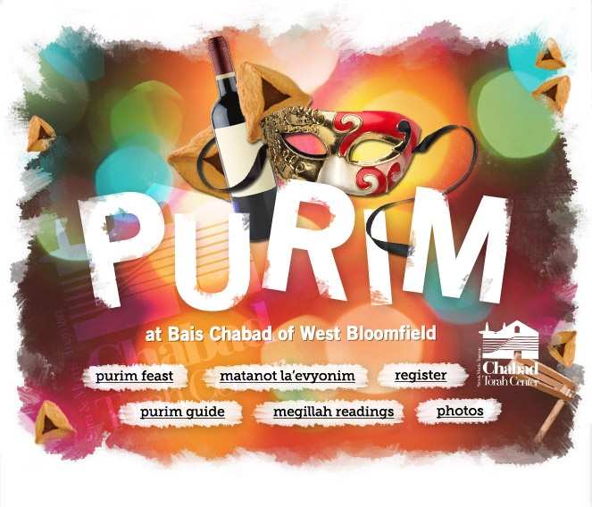 Purim at Beis Chabad | February 23-24, 2013